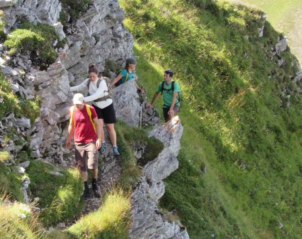 8. Marche en montagne