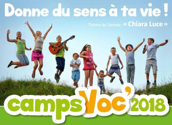 Bulletins d'inscription des Camps Voc'