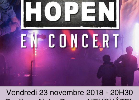 Carrefour Jeunesse – 23 novembre – Neuchâtel