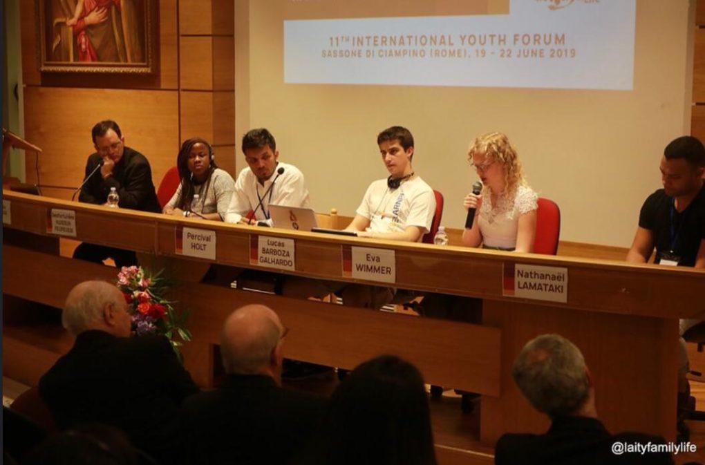 Partage d'Aline sur la première journée du Forum des jeunes