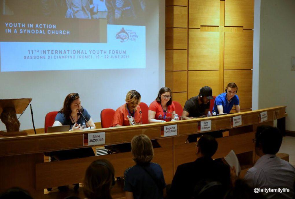 Partage d'Aline sur la deuxième journée du Forum des Jeunes