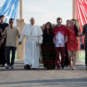 Délégation suisse au Forum international de la jeunesse à Rome